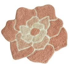 jessica simpson bloom shaped bath rug 26x28 free shipping on