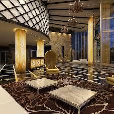 Luxury Lobby Design - lobby 3d max