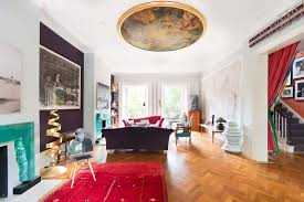 london home interiors hotelier vanessa branson u0027s art filled london home is up for rent