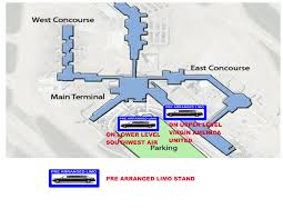 Dallas Fort Worth Airport Terminal Map by Allpoints Airport Sedan And Limousine