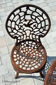 Outdoor Metal Furniture by How To Spray Paint Metal Outdoor Furniture To Last A Long Time