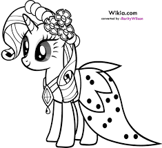 Rarity My Little Pony Coloring Pages Funycoloring Pony Coloring Pages