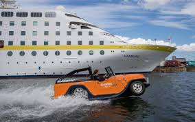 amphibious car watercar we drive an amphibious vehicle in and around dublin port