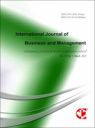 Default Size Of Business Card International Journal Of Business And Management