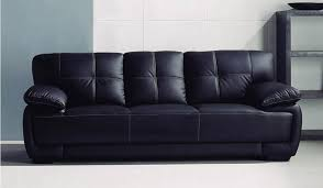Seater Sofas Delux Deco - Leather 3 seat sofa
