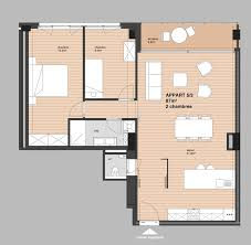 appartement 2 chambre plan appartement 2 chambres with plan appartement 2 chambres