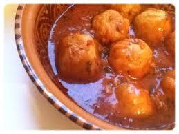 recette de cuisine kabyle tikourbabine boulettes kabyles la cuisine d oum hanae