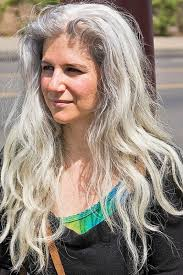 long gray hairstyles for women over 50 best haircuts for grey hair the best long hairstyles for women