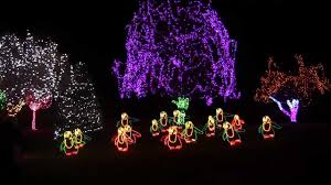 best christmas lights to music dancing penguins giant christmas