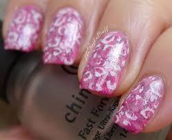 the nail buff layered pink cheetah source bendrix nails and