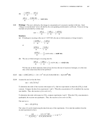 chang chemistry 11e chapter 13 solutions