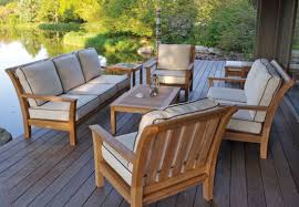 Patio Furnitures by Teak Patio Furniture Sets Outdoorlivingdecor