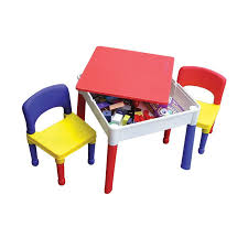 kids square activity table chairs 46