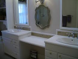 tile backsplash in bathroom white double bathroom vanity with