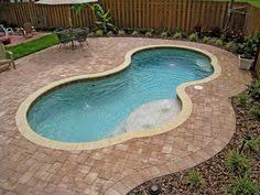 Inground Pool Ideas Small Inground Fiberglass Pool Pools Floaties Accessories