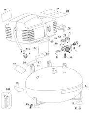 porter cable air compressor parts 243