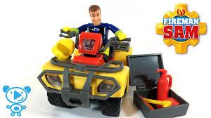 fireman sam mercury car toys cartoon toys review 4k kids