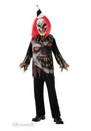 Clown Costumes Halloween Kids Freako Horror Clown Costume Halloween Escapade Uk