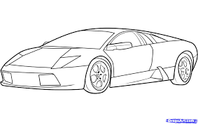 sports car drawing image for cool cars to draw lamborghini celebrities pinterest