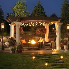 How To Set Up Landscape Lighting How To Set Up Landscape Lighting A Outdoor Patio Setup