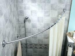Bathroom Shower Curtain Rod Neo Angle Shower Rod Custom Angle Shower Curtain Rods Bathrooms