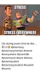 Uni Student Memes - stress stress everywhere memes funny pics frabzcom uni during exam