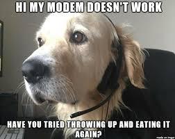 It Support Memes - dog tech support meme guy