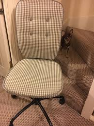 Ikea Office Chair Grey Brand New Ikea Grey White Check Office Chair In Trowbridge