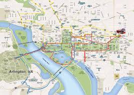 washington dc trolley map washington dc open top sightseeing tour