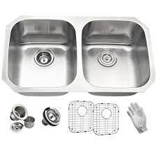 Elkay Crosstown Sink by Elkay Crosstown Undermount Stainless Steel 32 In Double Bowl