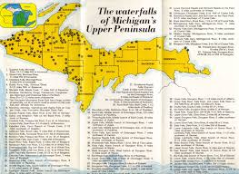 Map Of Upper Michigan by Up Michigan Waterfalls Michigan Pinterest Michigan