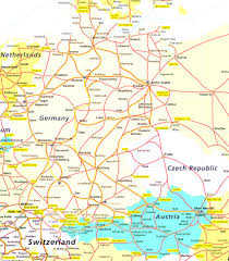 Italy Map With Cities Map Of Italy And Germany With Cities Thefoodtourist In To
