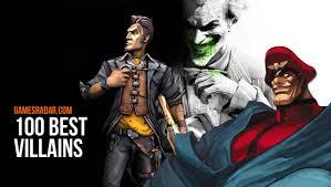 videos s nine highly badass 100 best villains in video games gamesradar