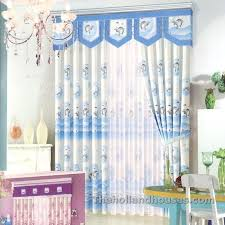 light blue curtains bedroom blue curtains for bedroom cute dolphin patterns blue curtains for