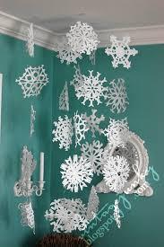 snowflake decorations diy snowflake ideas