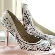 wedding shoes nyc diy painted wedding shoes daveyard ec5763f271f2