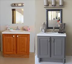 Painting Ideas For Bathroom Painting Bathroom Cabinets Interesting Inspiration White And Brown