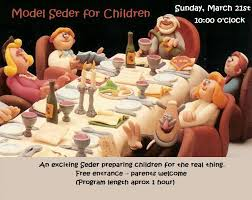 seder for children model seder for children chabad center lugano
