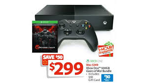 black friday deals on xbox one xbox one gears of war with 30 walmart gift card is walmart 1 hour
