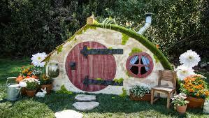 hobbit hole how to diy hobbit hole playhouse home family hallmark channel