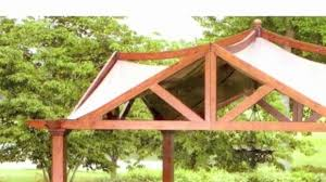 10 X 10 Pergola by Garden Treasures Pergola Canopy Replacement Pergola Gazebo Ideas