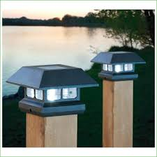 lighting low voltage fence post lights solar powered outdoor 5x5