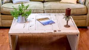 Diy Coffee Tables by Diy Coffee Table From Old Door Antique Unique Interior Decor