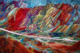 the rainbow mountains of china are earth u0027s paint palette