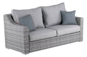 All Weather Wicker Loveseat Elle Decor Vallauris Sofa With Cushions U0026 Reviews Wayfair
