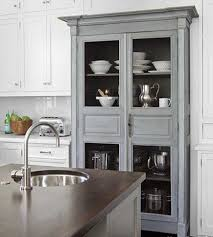 Stunning Kitchen Furniture Using Kitchen Hutch Design Aralsacom - White kitchen hutch cabinet