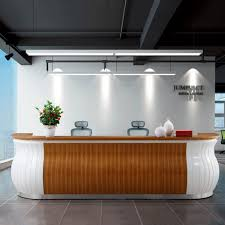 Diy Reception Desk Innovative Reception Desk Creative For Make Your Home More Better