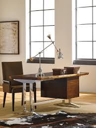 studio designs la costa live edge writing desk lexington home brands