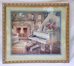 home interior framed retired home interiors embossed picture framed sunflowers by