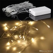 3xaa battery 40 led string mini fairy lights battery power